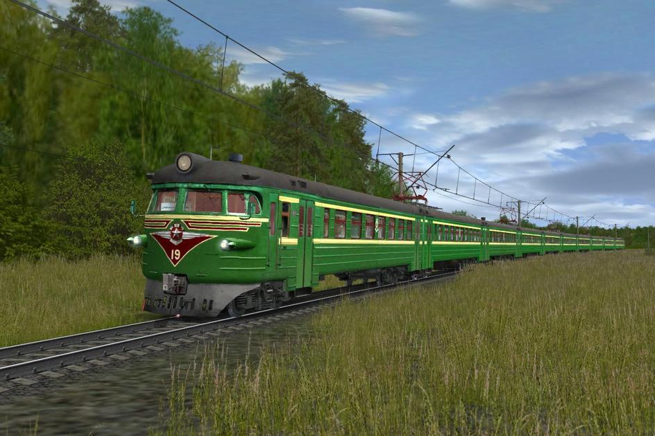 Электричку для trainz 12